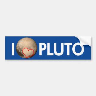 Autocollant De Voiture J'aime Pluton