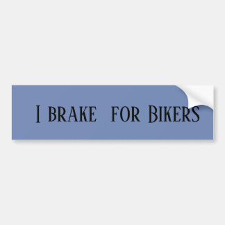Autocollant De Voiture Je freine pour des cyclistes