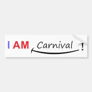 Autocollant De Voiture Je suis carnaval