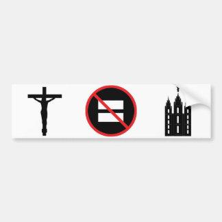 Autocollant De Voiture Jésus pas LDS