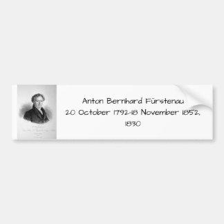 Autocollant De Voiture Josef Anton Bruckner