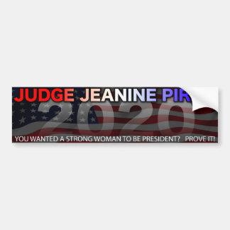 Autocollant De Voiture Juge Jeanine pour le président