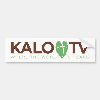 Autocollant De Voiture KALO TV - Adhésif pour pare-chocs