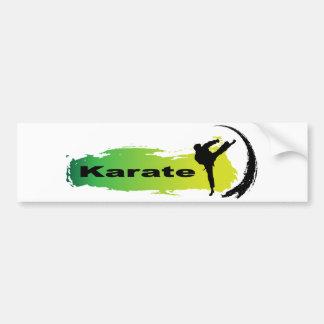 Autocollant De Voiture Karaté unique