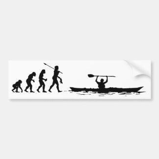 Autocollant De Voiture Kayaker