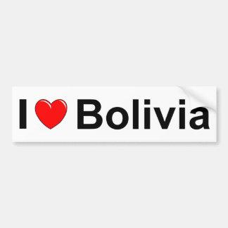 Autocollant De Voiture La Bolivie