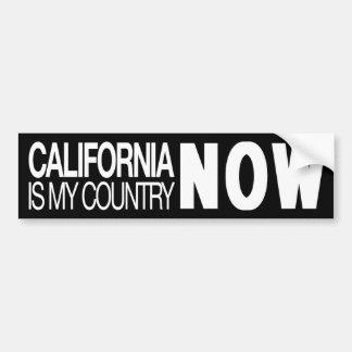 Autocollant De Voiture La Californie est mon pays maintenant