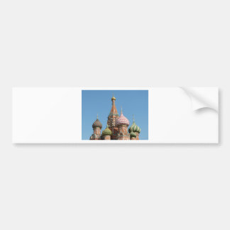 Autocollant De Voiture La cathédrale de Basil de saint