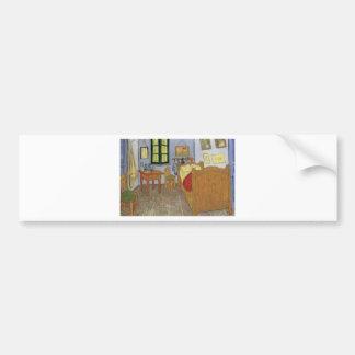 Autocollant De Voiture La chambre de Vincent Van Gogh (The room)