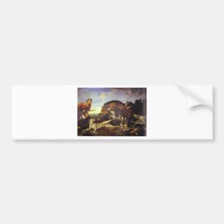 Autocollant De Voiture La chasse à sanglier par Frans Snyders