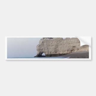Autocollant De Voiture La côte aux falaises d'Aval d'Etretat