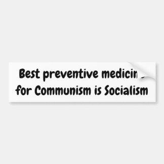 Autocollant De Voiture La meilleure médecine préventive pour le