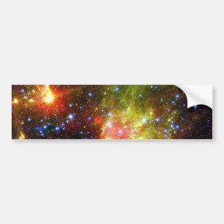 Autocollant De Voiture La mort poussiéreuse de la NASA massive d'étoile