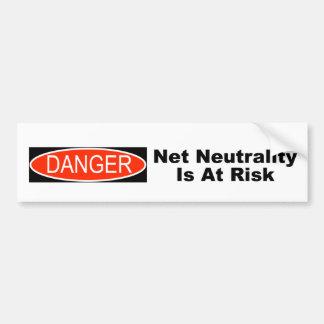 Autocollant De Voiture La neutralité nette est en danger