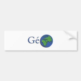 Autocollant De Voiture la planète terre - géographie