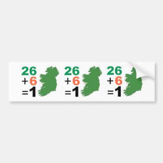 Autocollant De Voiture La République d'Irlande 26+Adhésif pour pare-chocs