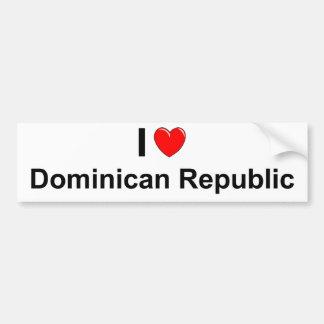 Autocollant De Voiture La République Dominicaine