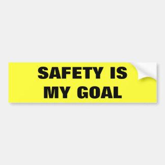 Autocollant De Voiture La sécurité est mon camion d'affaires de but