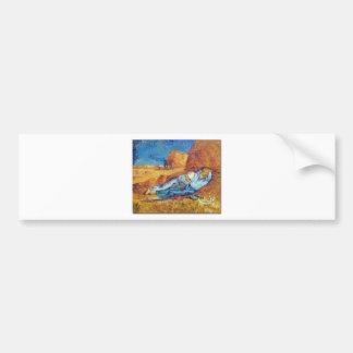 Autocollant De Voiture La Sieste de Vincent Van Gogh (Noon)