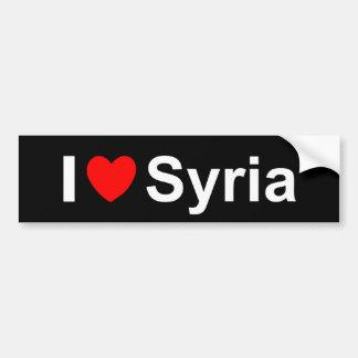 Autocollant De Voiture La Syrie