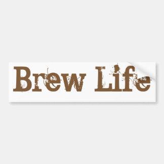 Autocollant De Voiture La vie de Brew