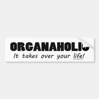 Autocollant De Voiture La vie d'Organaholic