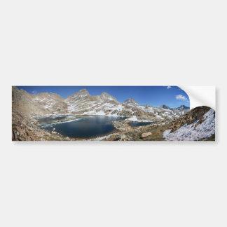 Autocollant De Voiture Lac bear noir - sierra