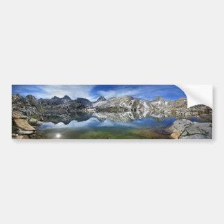 Autocollant De Voiture Lac en vé et panorama 2 de sept pignons - sierra
