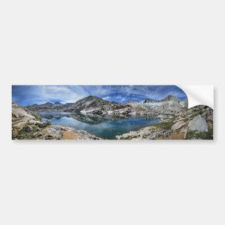 Autocollant De Voiture Lac en vé et panorama de sept pignons - sierra