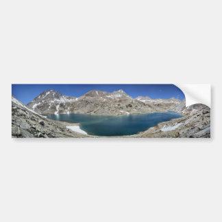 Autocollant De Voiture Lac Italie de ci-dessus - sierra