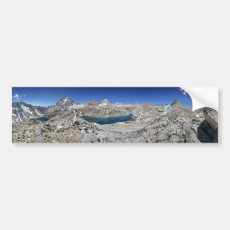 Autocollant De Voiture Lac Italie et lac bear de Brown - sierra