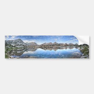 Autocollant De Voiture Lac Marie - traînée de John Muir