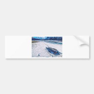 Autocollant De Voiture Lac Tioga