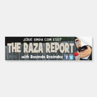 Autocollant De Voiture L'adhésif pour pare-chocs de rapport de Raza
