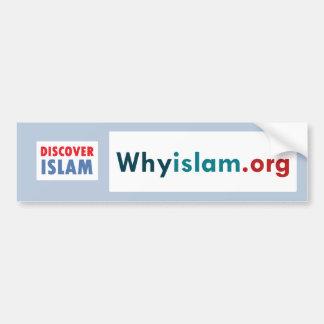 Autocollant De Voiture L'adhésif pour pare-chocs découvrent l'Islam (10)