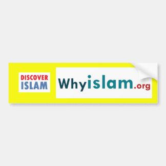 Autocollant De Voiture L'adhésif pour pare-chocs découvrent l'Islam (15)
