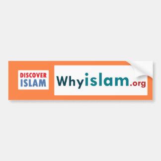 Autocollant De Voiture L'adhésif pour pare-chocs découvrent l'Islam (17)