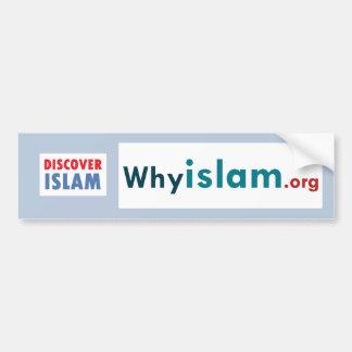 Autocollant De Voiture L'adhésif pour pare-chocs découvrent l'Islam (20)