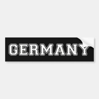 Autocollant De Voiture L'Allemagne