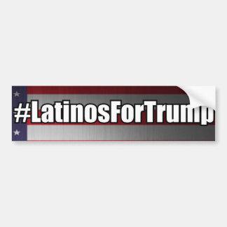 Autocollant De Voiture Latino de #LatinosForTrump pour l'adhésif pour