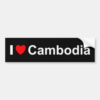 Autocollant De Voiture Le Cambodge
