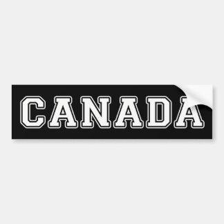 Autocollant De Voiture Le Canada