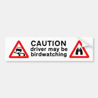 Autocollant De Voiture Le conducteur de précaution peut être adhésif pour