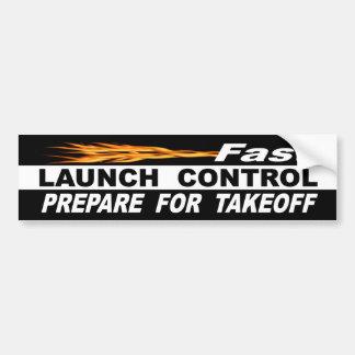 Autocollant De Voiture Le contrôle rapide de Lauch se préparent au