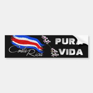 Autocollant De Voiture Le Costa Rica Pura Vida !