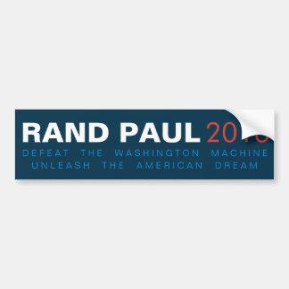 Autocollant De Voiture Le couche-point Paul lâchent le rêve américain