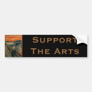 Autocollant De Voiture Le cri perçant par Edvard Munch