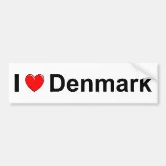 Autocollant De Voiture Le Danemark