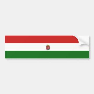Autocollant De Voiture Le drapeau de la Hongrie