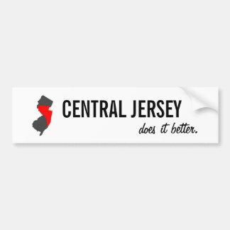 """Autocollant De Voiture """"Le Jersey central il améliore"""" l'adhésif pour"""